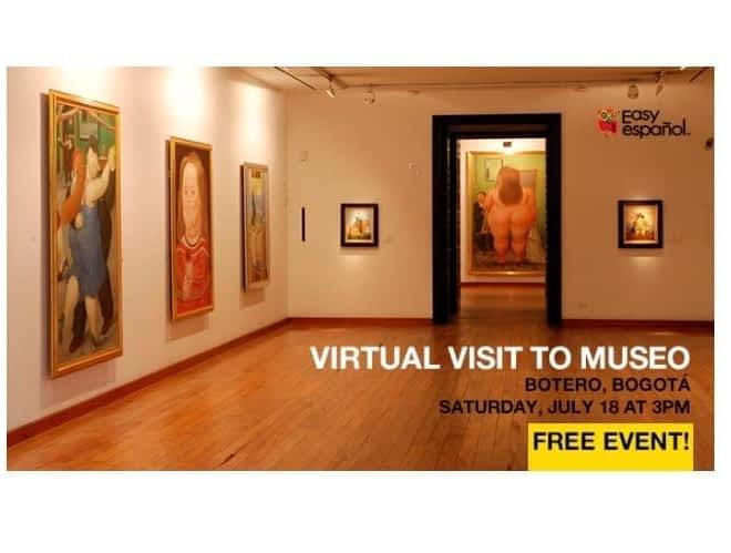 Virtual Tour to the Museo Botero - Easy Español