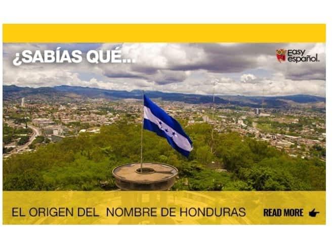 El origen del nombre de Honduras - Easy Español
