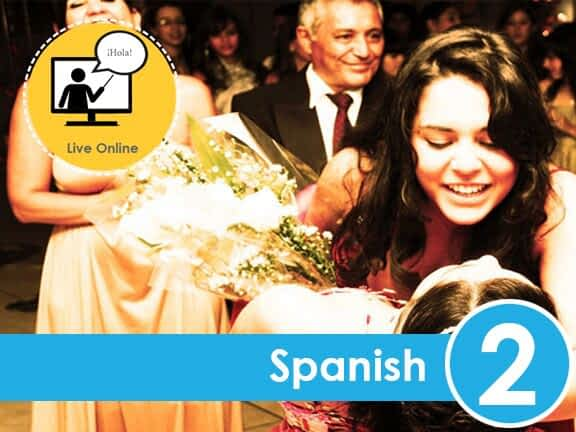 Live Online Course: Spanish for Lower Beginners - Easy Español