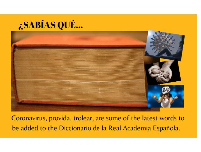 ¿Sabías que 'coronavirus', 'provida', 'trolear', entre otras ya forman parte del Diccionario de la Real Academia Española? - Easy Español